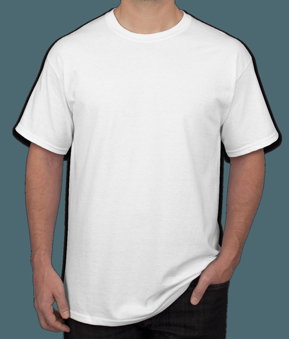 Men White T-Shirt - Product Customization - PeersandCheeers