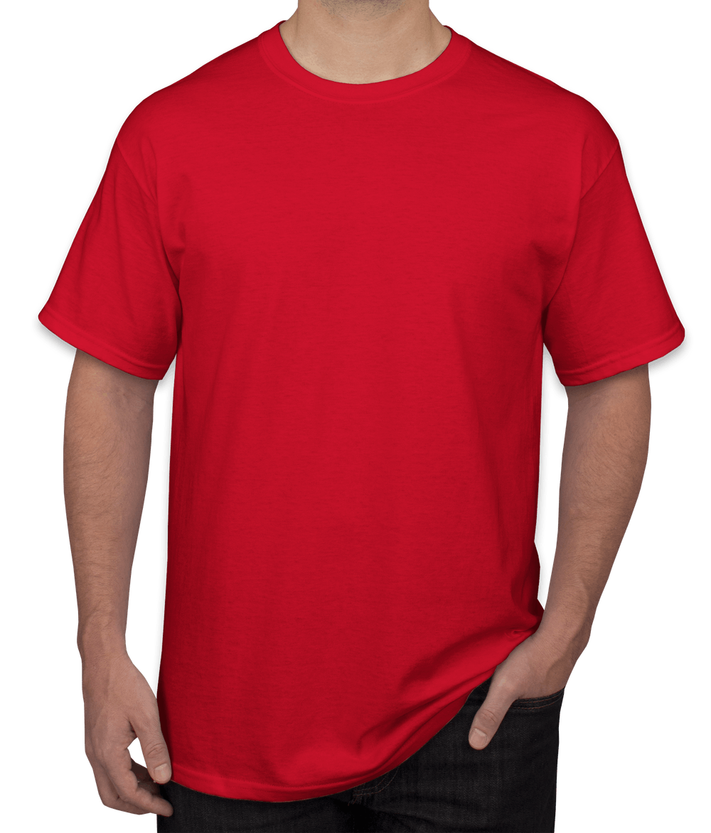 Men Red T-Shirt – Product Customization – PeersandCheeers