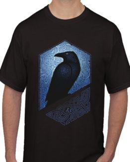 Bird on my tee black