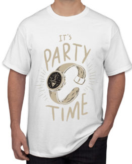 It's party time white-front