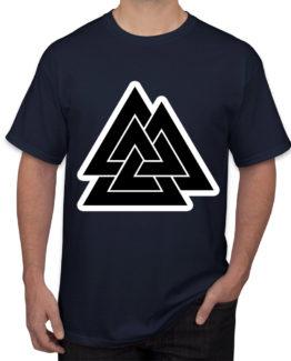 Pyramids blue