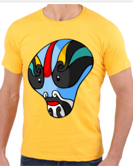yellow-mask-tee