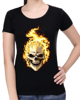 women-black-skull-on-fire